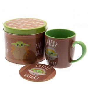 Star Wars: The Mandalorian Mug & Coaster Gift Tin