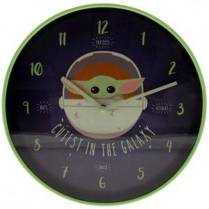 Star Wars: The Mandalorian Wall Clock Cutest