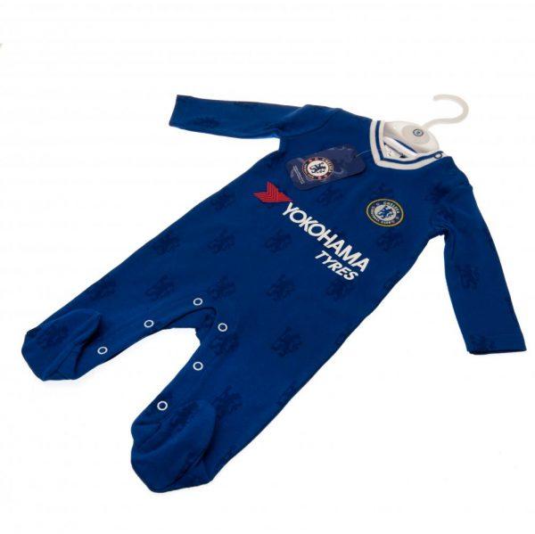 Chelsea FC Sleepsuit 6/9 mths LN