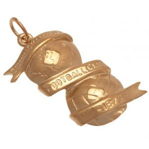 Birmingham City FC 9ct Gold Pendant XL