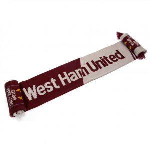 West Ham United FC Scarf VT