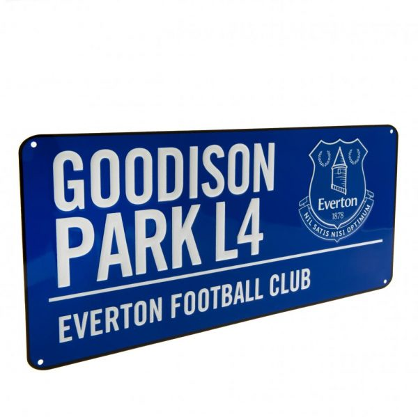 Everton FC Street Sign BL