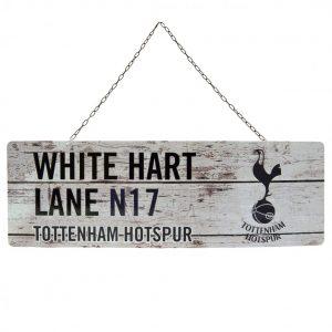 Tottenham Hotspur FC Rustic Garden Sign