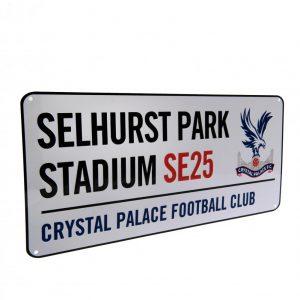Crystal Palace FC Street Sign