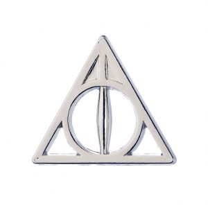 Harry Potter Badge Deathly Hallows