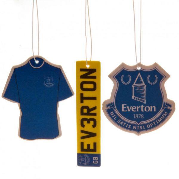 Everton FC 3pk Air Freshener