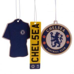 Chelsea FC 3pk Air Freshener