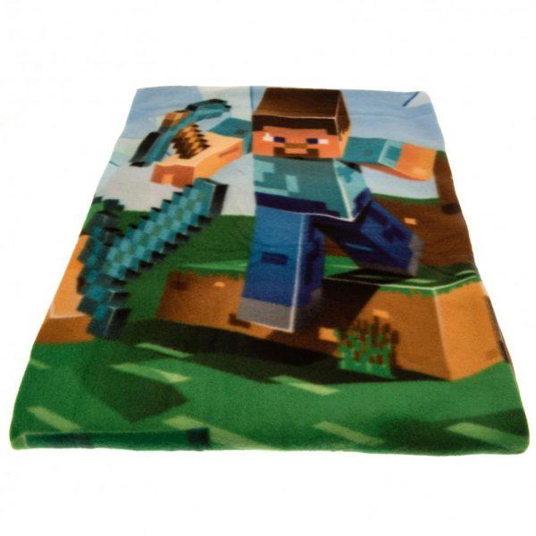 Minecraft Fleece Blanket