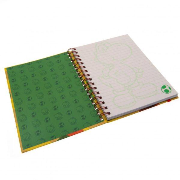 Super Mario Notebook Yoshi