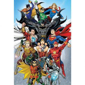 DC Comics Poster Rebirth 249