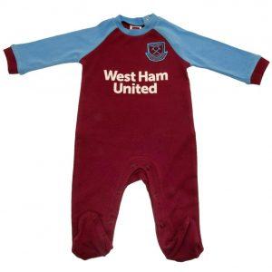 West Ham United FC Sleepsuit 12/18 mths SK