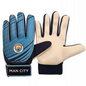 Manchester City FC Goalkeeper Gloves Kids AG