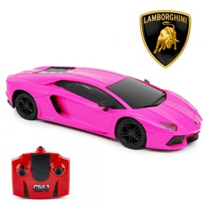 Lamborghini Aventador Radio Controlled Car 1:24 Scale Pink