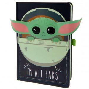 Star Wars: The Mandalorian Premium Notebook I'm All Ears