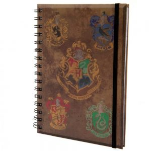 Harry Potter Notebook House Crests