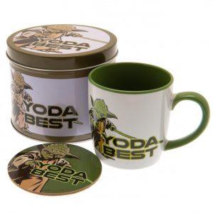 Star Wars Mug & Coaster Gift Tin Yoda