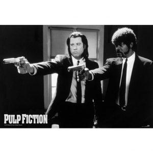 Pulp Fiction Poster Guns 154