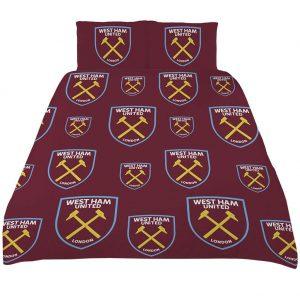 West Ham United FC Double Duvet Set