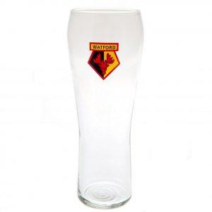Watford FC Pilsner Pint Glass