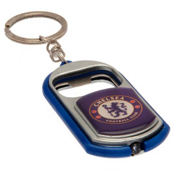 Chelsea FC Key Ring Torch Bottle Opener