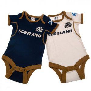 Scotland RU 2 Pack Bodysuit 0/3 mths