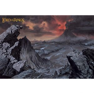 The Lord Of The Rings Poster Mount Doom 226