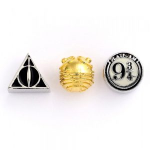 Harry Potter Silver Plated Spacer Bead Set CL