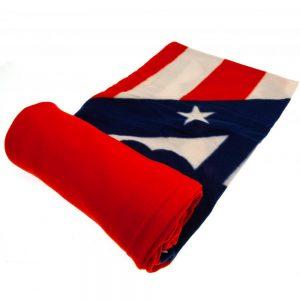 Atletico Madrid FC Fleece Blanket