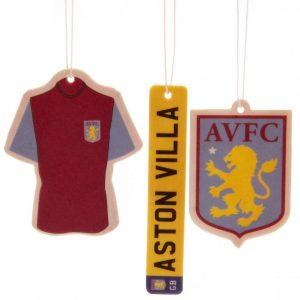 Aston Villa FC 3pk Air Freshener