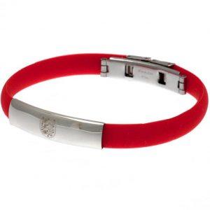 England FA Colour Silicone Bracelet
