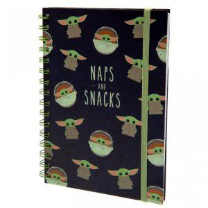 Star Wars The Mandalorian Notebook Snacks