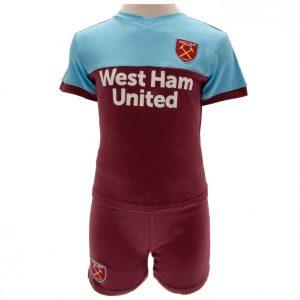 West Ham United FC Shirt & Short Set 6/9 mths