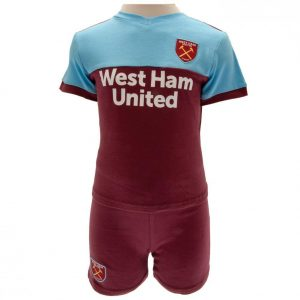 West Ham United FC Shirt & Short Set 9/12 mths
