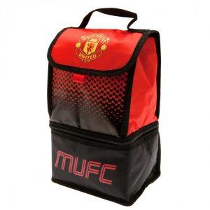 Manchester United FC 2 Pocket Lunch Bag