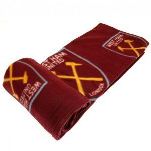West Ham FC Fleece Blanket MC