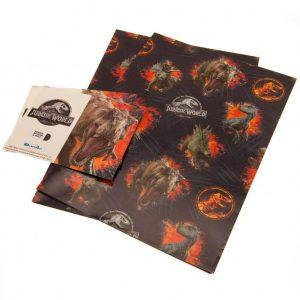 Jurassic World Gift Wrap