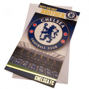 Chelsea FC Birthday Card Brother