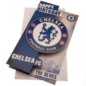 Chelsea FC Birthday Card The Blues