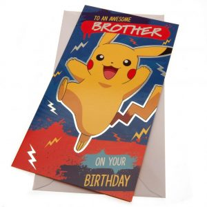 Pokemon Birthday Card Brother