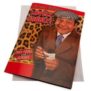 Only Fools And Horses Birthday Sound Card