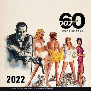James Bond Calendar 2022
