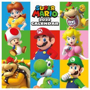 Super Mario Calendar 2022
