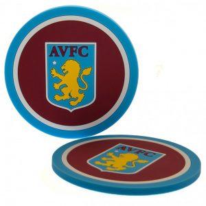 Aston Villa FC 2pk Coaster Set