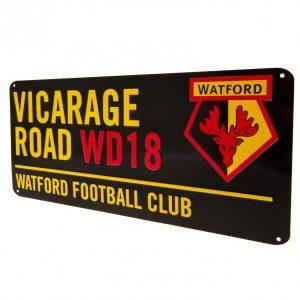 Watford FC Street Sign BK