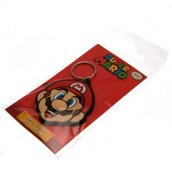 Super Mario PVC Keyring Mario