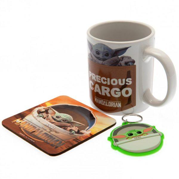 Star Wars The Mandalorian Mug & Coaster Set